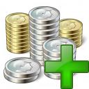 Money 2 Add Icon 128x128
