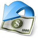 Money Refund Icon 128x128