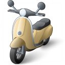 Motor Scooter Icon 128x128