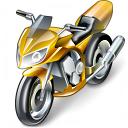 Motorbike Icon 128x128