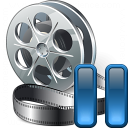 Movie Pause Icon 128x128