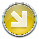 Nav Down Right Yellow Icon 128x128