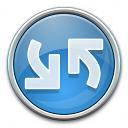 Nav Refresh Blue Icon 128x128