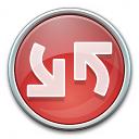 Nav Refresh Red Icon 128x128