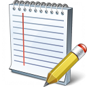 Notebook Edit Icon 128x128