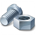 Nut And Bolt Icon 128x128