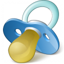Pacifier Icon 128x128