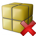 Package Delete Icon 128x128
