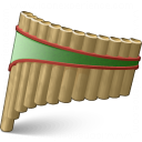 Pan Flute Icon 128x128