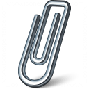 Paperclip Icon 128x128