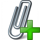 Paperclip Add Icon 128x128
