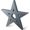 Pentacle Icon 128x128