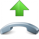 Phone Pick Up Icon 128x128