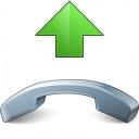 Phone Pick Up Icon 128x128