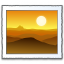 Photo Landscape Icon 128x128