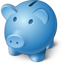 Piggy Bank Icon 128x128