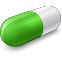 Pill Green Icon 128x128