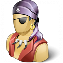 Pirate Icon 128x128