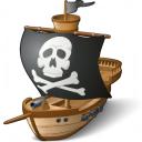 Pirates Ship Icon 128x128