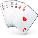 Playing Cards Icon 128x128
