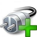 Plug Add Icon 128x128