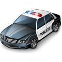 Police Car Icon 128x128