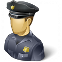 Policeman Usa Icon 128x128