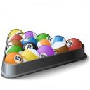 Pool Balls Icon 128x128