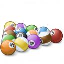 Pool Balls 2 Icon 128x128