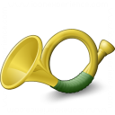 Post Horn Icon 128x128