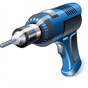 Power-drill Icon 128x128