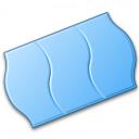 Price Sticker Blue Icon 128x128