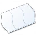 Price Sticker White Icon 128x128