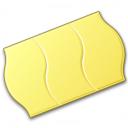 Price Sticker Yellow Icon 128x128