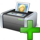 Printer 3 Add Icon 128x128