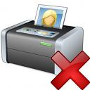 Printer 3 Delete Icon 128x128