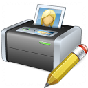 Printer 3 Edit Icon 128x128