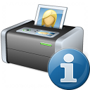Printer 3 Information Icon 128x128