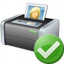 Printer 3 Ok Icon 128x128