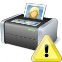 Printer 3 Warning Icon 128x128