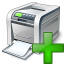 Printer Add Icon 128x128