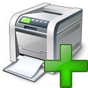 Printer Add Icon 128x128