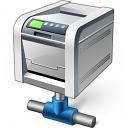 Printer Network Icon 128x128