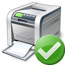 Printer Ok Icon 128x128