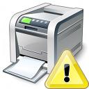 Printer Warning Icon 128x128