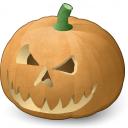 Pumpkin Halloween Icon 128x128