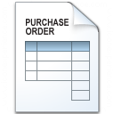 Iconexperience V Collection Purchase Order Icon