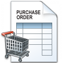 Purchase Order Cart Icon 128x128