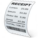 Receipt Icon 128x128