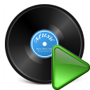 Record Run Icon 128x128